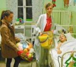 családtámogatás, adományosztás, gyógyítás, gyermekek, kórház