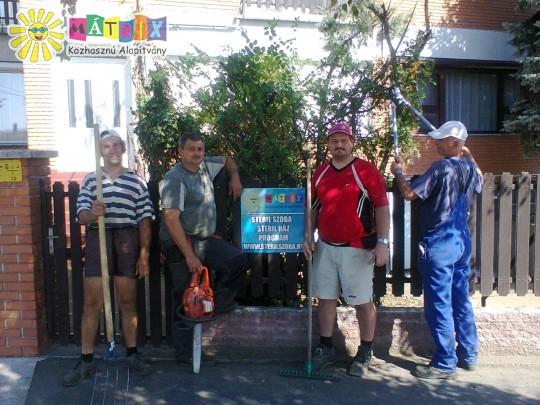 Önkéntesek dolgoztak a Mátrix Sterilház szépítésén