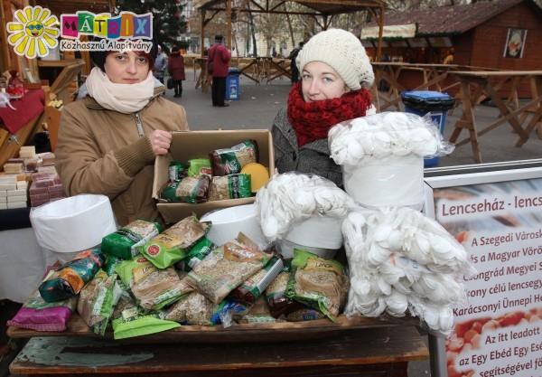 Szerencse lencse: óévbúcsúztató meleg étel osztást támogattunk