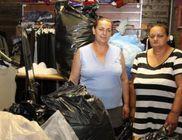 Háromszáz kiló ruhát és cipőt kapott a baksi Gecsemáné Keresztény Gyülekezet