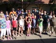 Mozgáskorlátozott gyerekek táborozását támogattuk