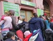 Sok éhezőnek nem jutott az októberi Mátrixos élelmiszersegélyből