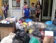 Szegedről indult ruha és élelmiszersegély a hajdú-bihar megyei Tiszacsegére
