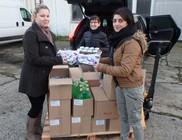 Élelmiszer adományt kaptunk a Dózer-Ép Kft-től