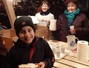 Jótékonysági tea és zsíros kenyér osztást támogattunk