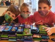 Egész évben adományokkal segítjük a rászorulókat