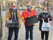 Számítógép adomány a mentőknek, a COVID elleni küzdelemhez