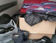 Hajléktalan szállókra hordjuk a ruhákat, takarókat