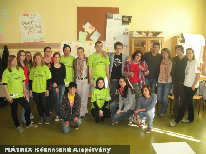 A MÁTRIX Alapítvány is segíti az FLP-t (Fiatalok Lendületben Programot)