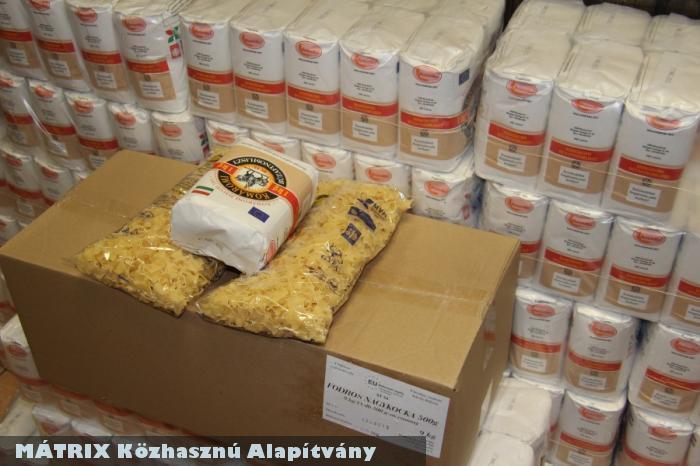EU-s élelmiszerrel segítettük a rászorulókat a Centerkében