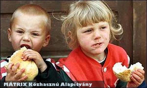 Nélkülözõ gyermekek és családjaik számára osztunk élelmet