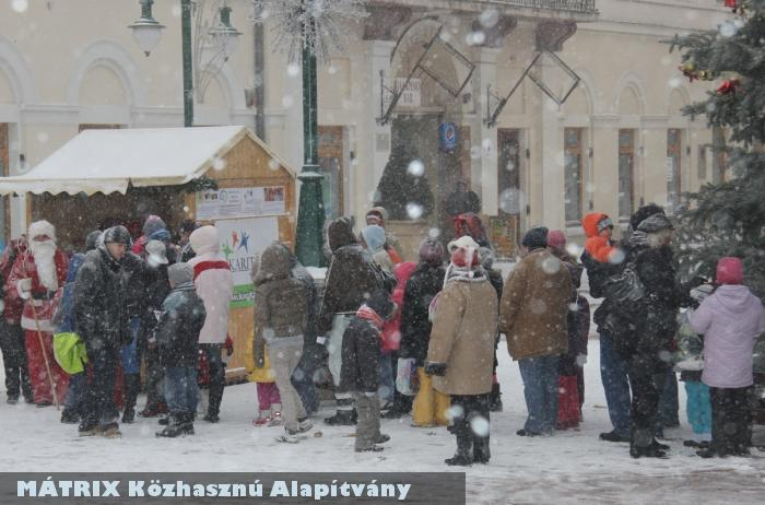 Hófúvásban is adományoztunk :)