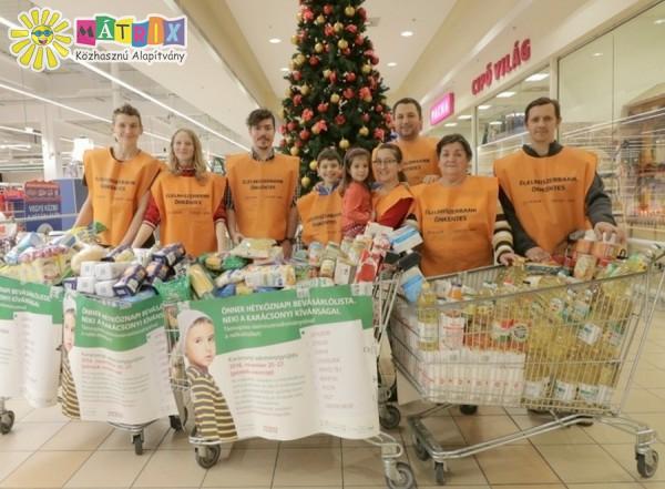 Önkéntes csapat, élelmiszer adományok