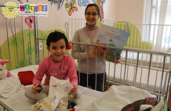 Beteg gyermekek támogatása, mesedoktorok