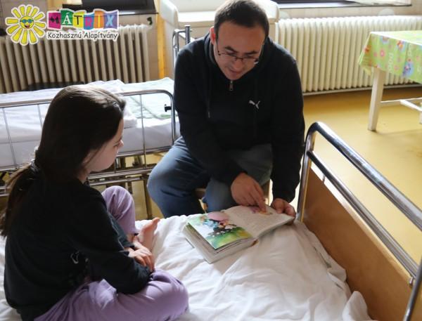 Kórházi mesedoktor vizit