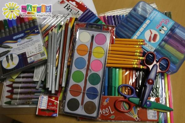 Ceruza, toll, festék nagycsaládosoknak