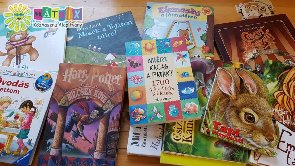 Könyvadomány gyerekeknek