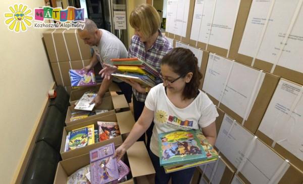 80 csomag gyermekkórházaknak
