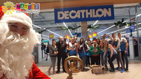 Decathlon, szeretetcsoki csapat