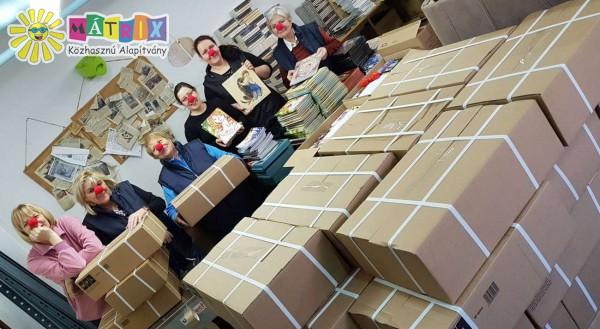 Bohócdoktorok, könyvcsomag gyermekeknek