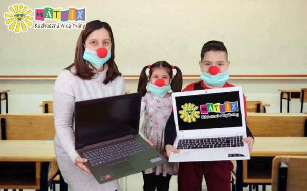 Számítógép adomány - gyermekek támogatása