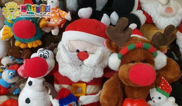 Karácsonyi ajándékok - gyermekek támogatása