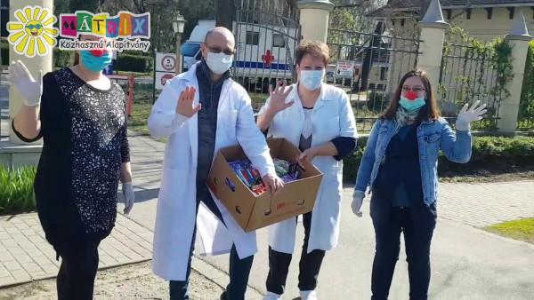 Kórháztámogatás - Covid elleni küzdelem támogatása