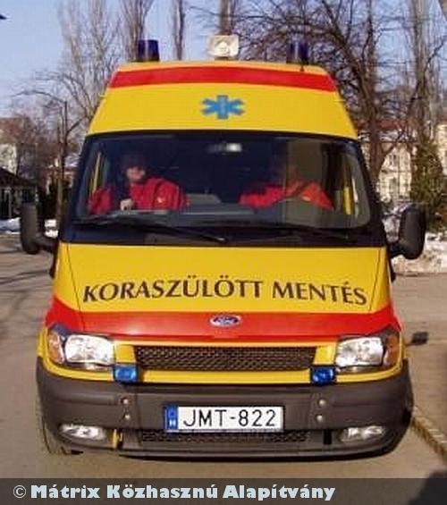 A MÁTRIX Alapítvány 2010-ben is támogatta az újszülött életmentést!