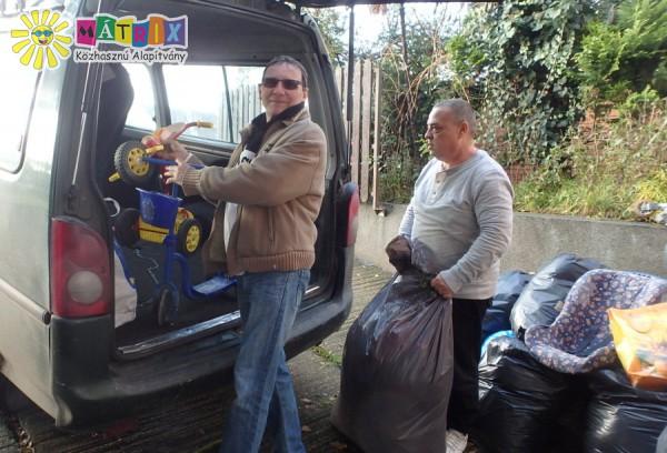 Adomány szállítmány Ózdi rászorulóknak