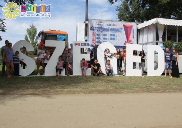Csodafalus gyerekekkel a Szegedi Ifjúsági Napokon