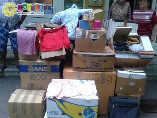 Egész évben adomány osztás és gyűjtés a Centerke Adományozó Központban