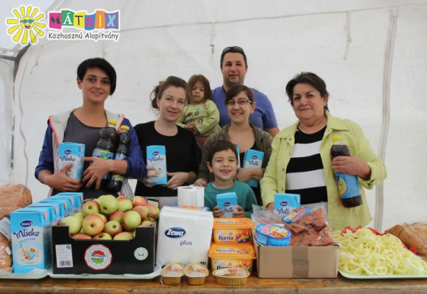 Felsorakozott a Mátrix Közhasznú Alapítvány gyermekétkeztetési csapata