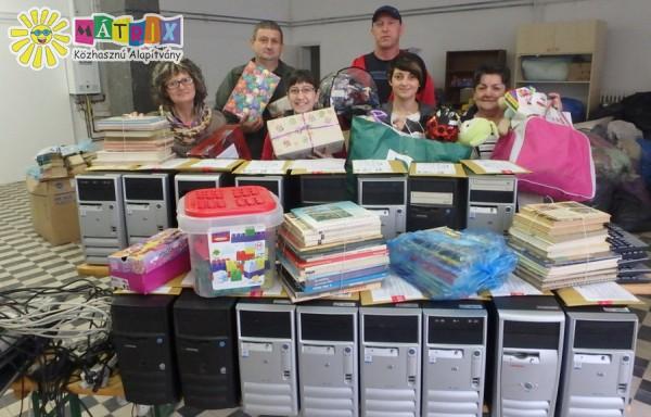 Gyermeknapi adomány nélkülöző gyerekeknek