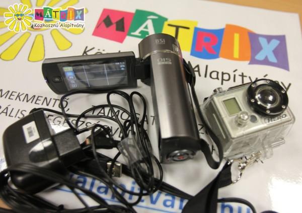Kamerákat adtunk a D2 ifjúsági fejlesztő klubnak