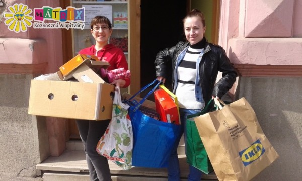 Lakossági adomány érkezett a Centerkébe
