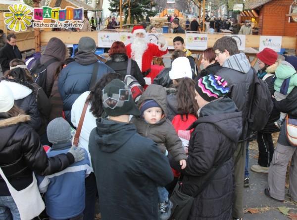 Mátrix Mikulás 2013 - ezer gyermeknek osztottunk ajándékot