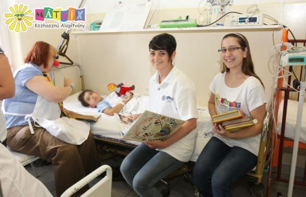 Mesedoktorok, kórházi támogatás