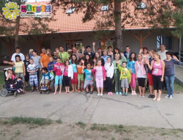 Nyári mozgássérültek táborozását is támogattuk