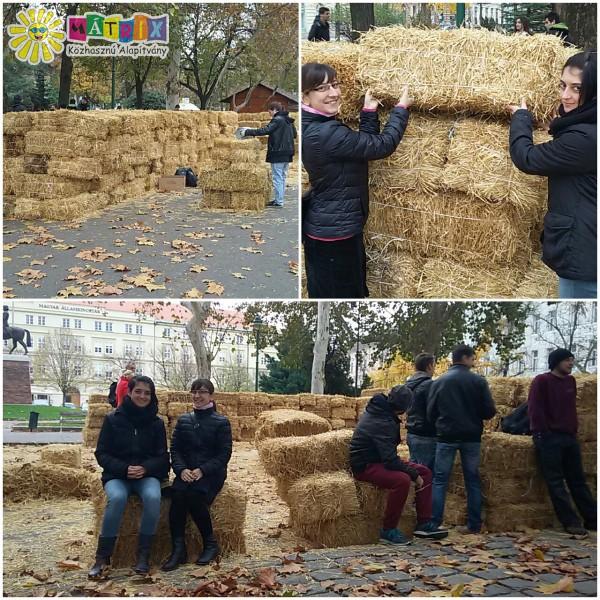 Önkénteseink az ünnepi előkészületeket is segítették!
