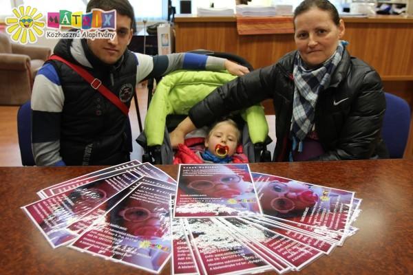 Plakátok készültek Dia gyógyításának megsegítéséhez