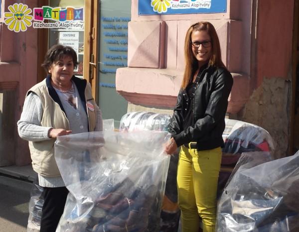 Ruha és cipő adomány rászorulóknak