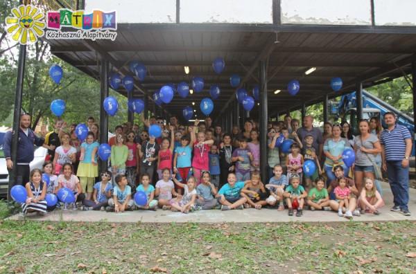 SZIN 2015, Csodafalu, megvendégelt gyerekek