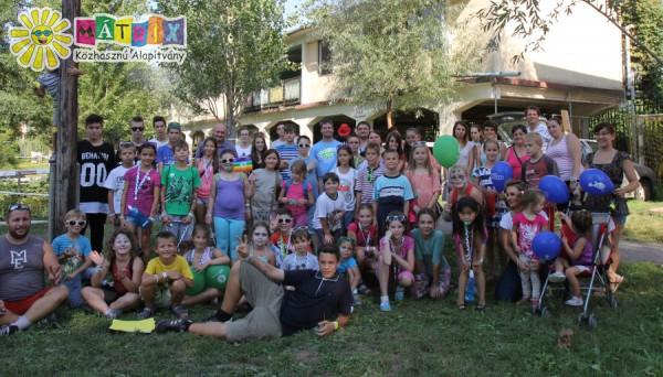 SZIN 2015, Csodafalu, táborozó gyerekekkel