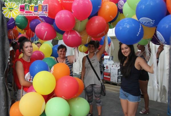 Sziget 2015 - ÉlőBolygó flashmob és rekord