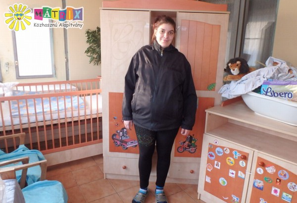 Szülés előtt álló anyuka számára juttattunk komplett bababútort