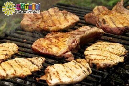 Tábori grill husi