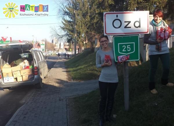 Terecske és Ózd környékén is támogattuk a rászorulókat