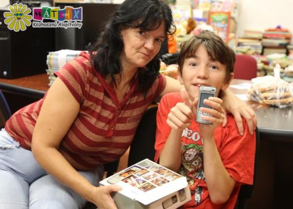 Topika családját adományokkal segítettük