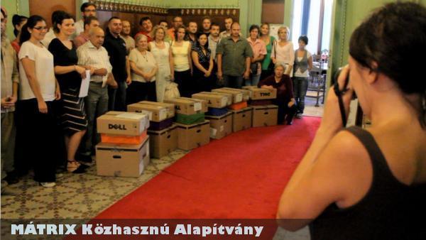 WARC 2011 - számítógéposztás szerbiai településeknek