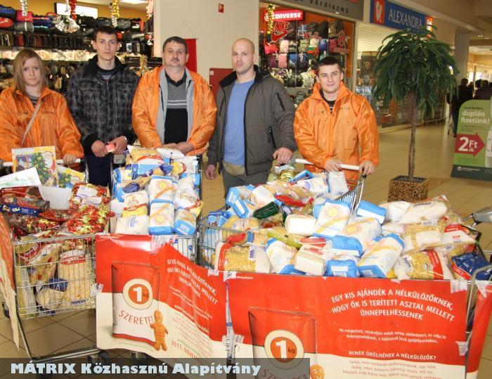 Örömhír a rászorulóknak: megteltek adományokkal a kosarak